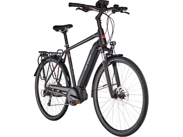 Ortler Tours Powertube E-trekkingcykel sort (2019) | City-cykler